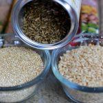 Cereales integrales. Alimentación sana